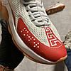 Versace Cross Chainer Gray Red (Белый Серый), фото 5