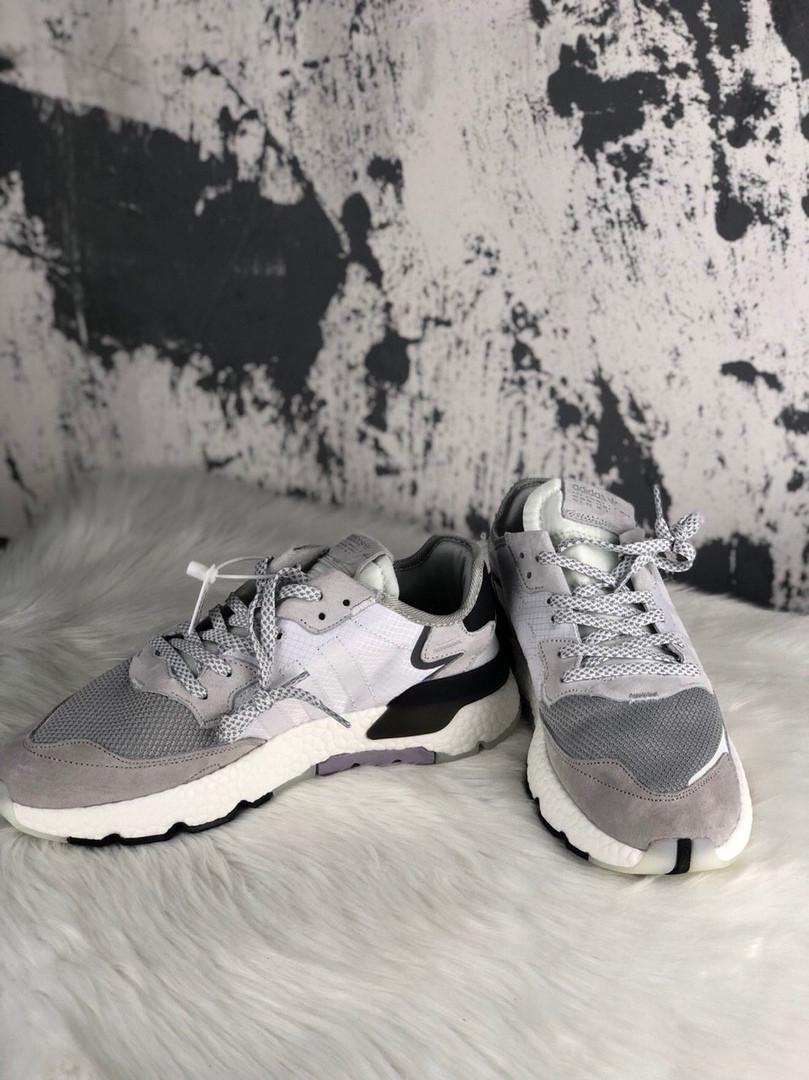 Adidas Nite Jogger Crystal White (Серый)
