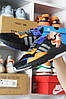 Adidas Nite Jogger Black Blue Orange (Черный), фото 3