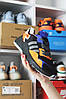 Adidas Nite Jogger Black Blue Orange (Черный), фото 5