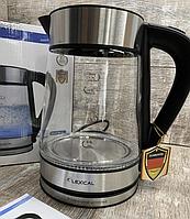 Электрический чайник LEXICAL LEK-1403 1.7л 2200Вт, Дисковый электрочайник, фото 1