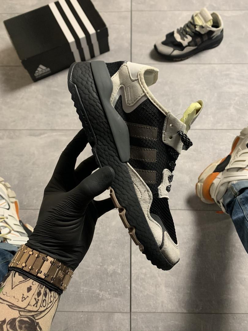 Adidas Nite Jogger Black Beige (Черный)