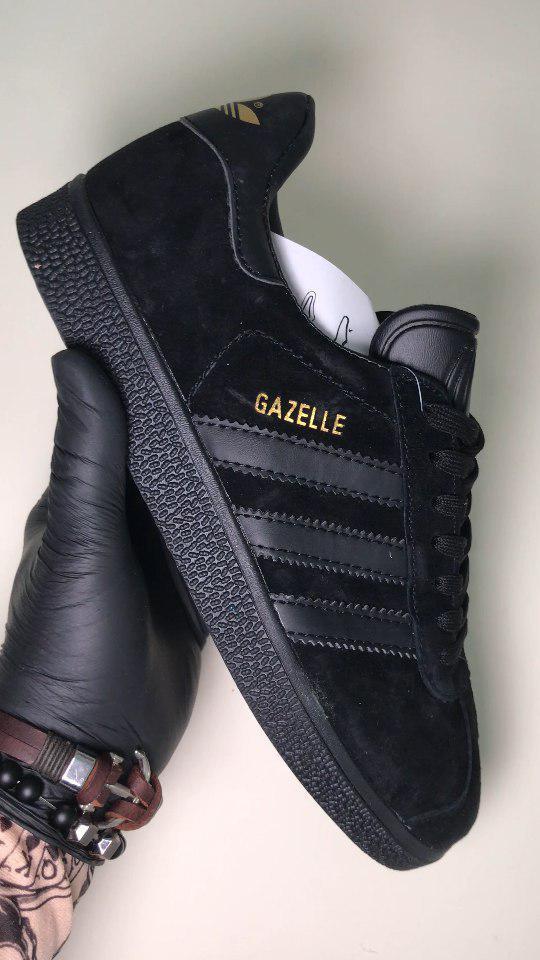 Adidas Gazelle Black (Черный)