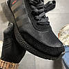 Adidas Iniki Full Black (Черный), фото 6