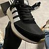 Adidas Iniki Black White (Черный), фото 6