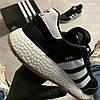 Adidas Iniki Black White (Черный), фото 7