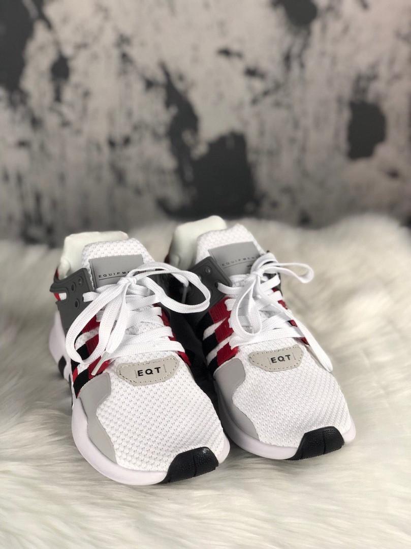 Adidas Equipment EQT Support ADV Grey Red Black (Серый)