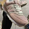 New Balance 574 Pink Suede (Розовый), фото 5