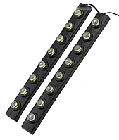 Гибкие дневные ходовые огни DRL 1202-8 (2 планки), фото 1