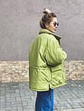 Куртка женская зимняя короткая, фото 3
