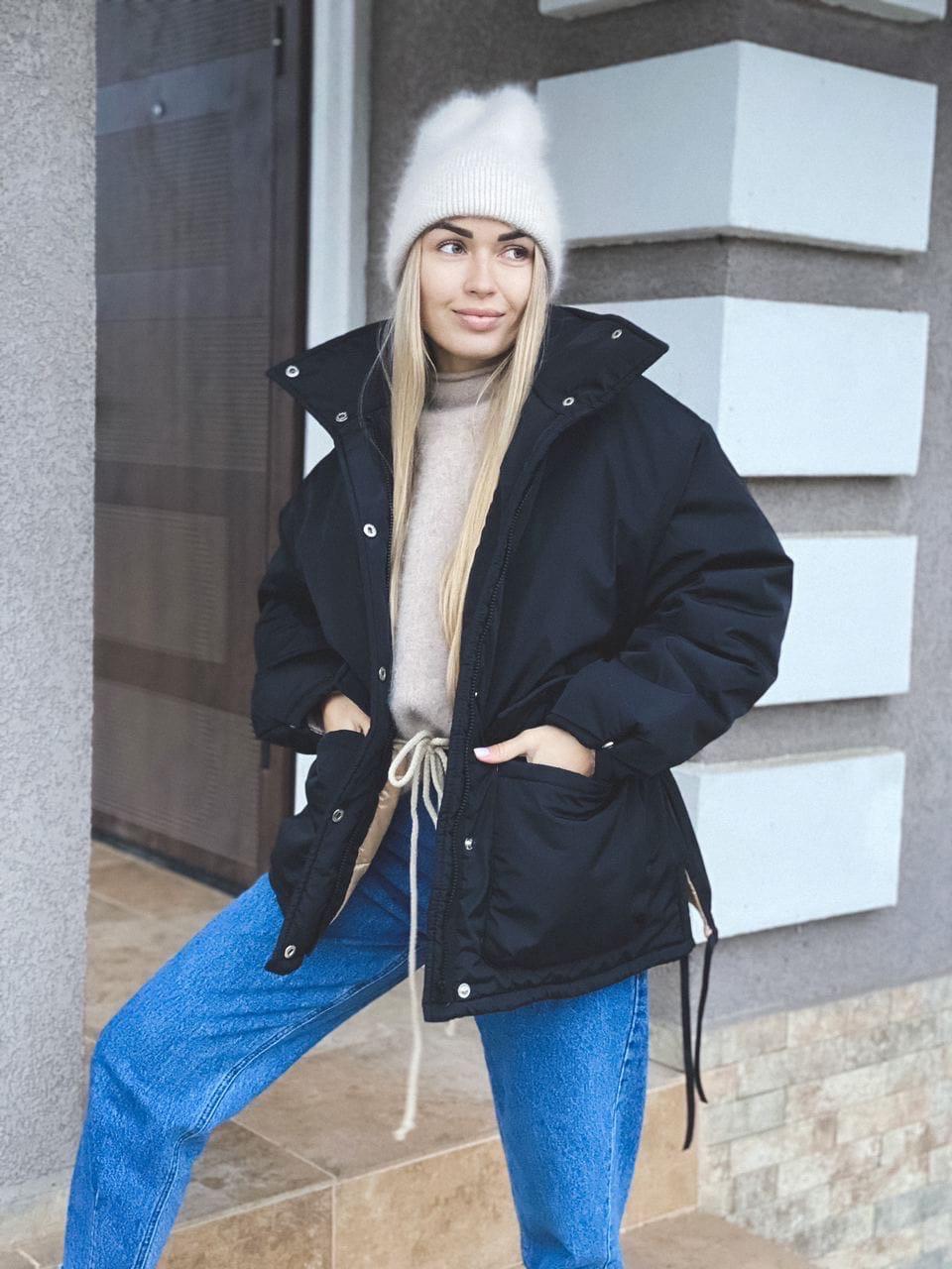 Куртка женская зимняя короткая