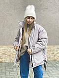 Куртка женская зимняя короткая, фото 7