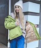 Куртка женская зимняя короткая, фото 4