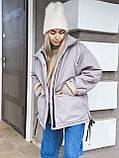 Куртка женская зимняя короткая, фото 8