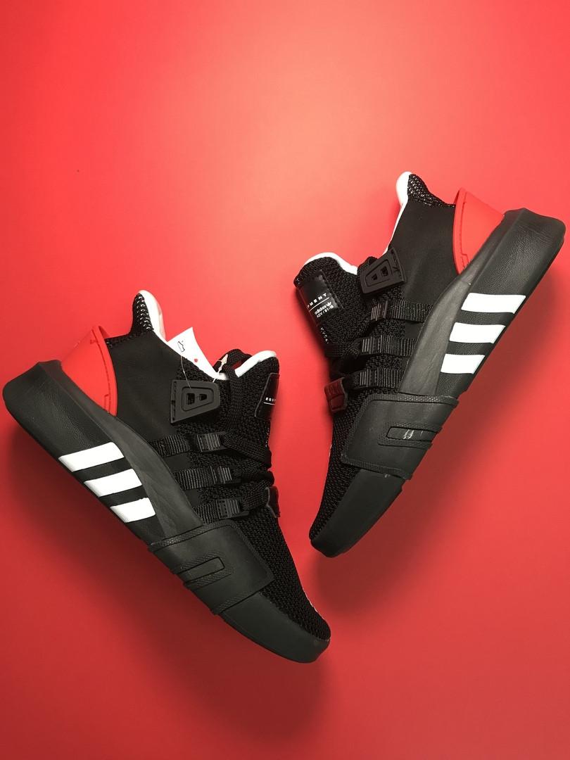 Adidas Equipment EQT Support Black Red (Черный)