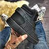 Adidas Tubular Invader Full Black (Черный), фото 6