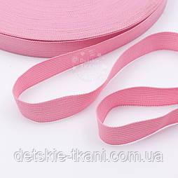Тасьма окантовочна (лямовка) рожевого кольору 15 мм