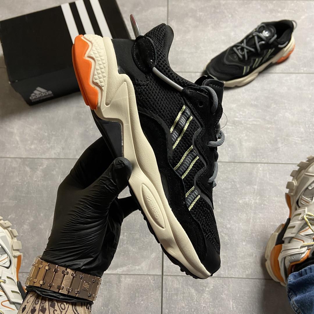 Adidas Ozweego Black Beige (Чёрный)
