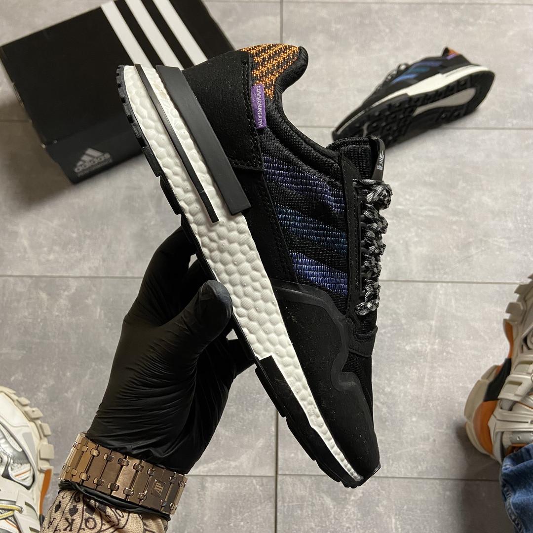 Adidas ZX 500 Black Violet (Чёрный)