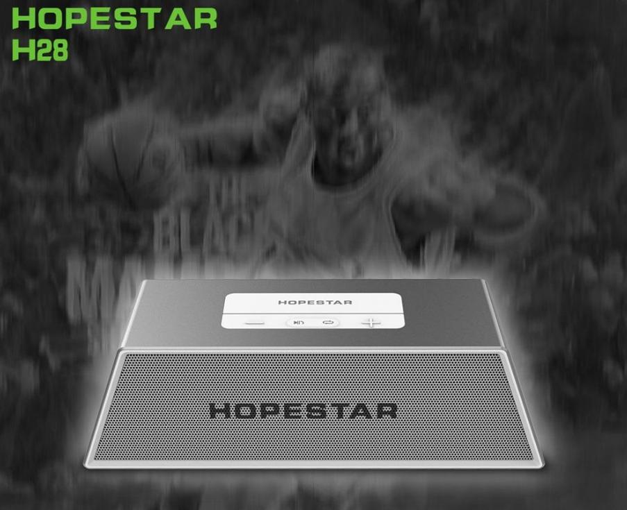 Портативная Bluetooth колонка спикер HOPESTAR H28 (FM, MP3, Handsfree, AUX, USB, TF)