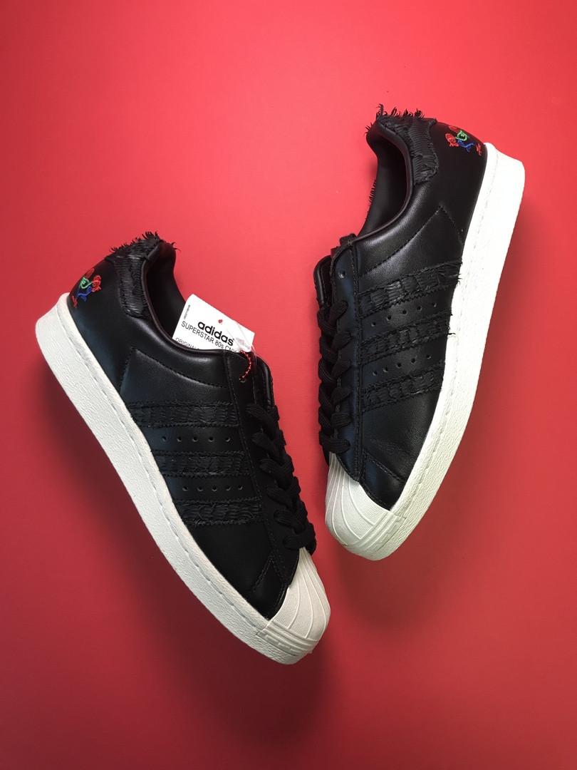 Adidas Superstar Black White (Черный)