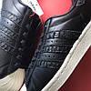 Adidas Superstar Black White (Черный), фото 7