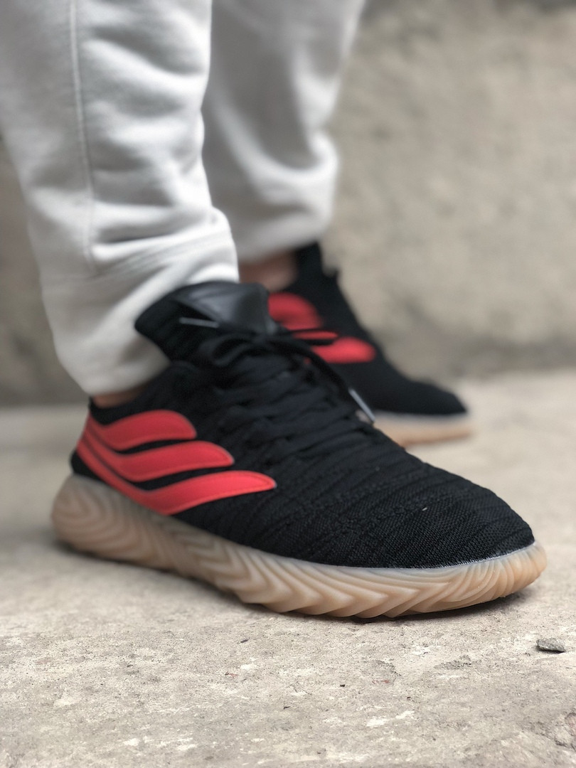 Adidas Sobakov Black Orange Gum (Черный)
