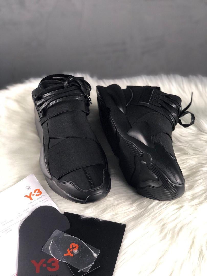 Adidas Yohji Yamamoto Y-3 Qasa x Kaiwa Chunky Full Black  (Черный)