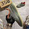 Adidas Yeezy Boost 350 V2 Desert Sage (Серый), фото 4