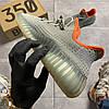Adidas Yeezy Boost 350 V2 Desert Sage (Серый), фото 8