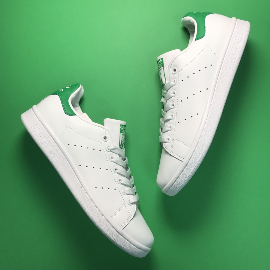 Adidas Stan Smith White Green (Белый)