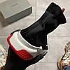 Balenciaga Speed Trainer Black and White/Red (Чёрный), фото 8