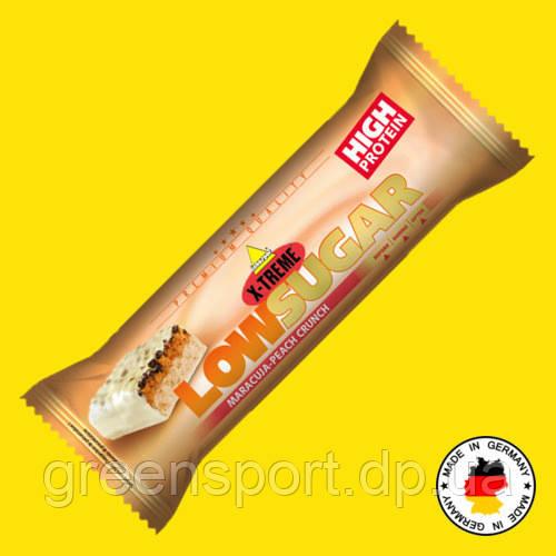 Протеиновый батончик без сахара Inkospor Low Sugar 65 г Маракуйя-персик