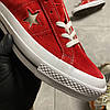 Converse One Star Premium Suede Red (Красный), фото 4
