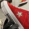 Converse One Star Premium Suede Red (Красный), фото 8