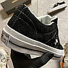 Converse One Star Premium Suede Black (Черный), фото 2