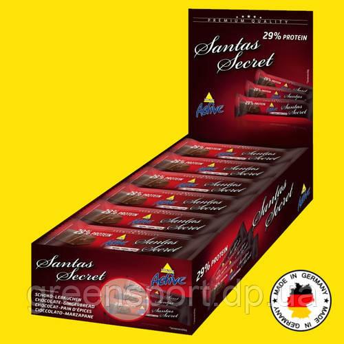 Протеиновые батончики ИНКОСПОР SANTAS SECRET (24 шт.) Шоколад имбирь