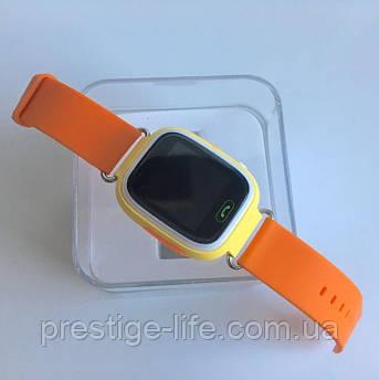 Смарт-часы с GPS, Wi-Fi, Smart Baby Watch Q90 Оранжевые