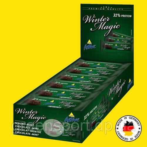 Протеиновые батончики ИНКОСПОР WINTER MAGIC (24 шт.) Шоколад мята