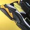 Balenciaga Triple S V2 Black Yellow (Желтый), фото 7