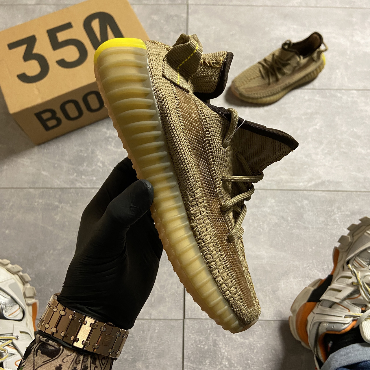 Adidas Yeezy Boost 350 V2 Earth (Коричневый)