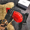 Balenciaga Triple S Clear Sole Black Red (Черный), фото 8