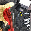 Balenciaga Triple S Clear Sole Black Red (Черный), фото 9