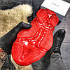 Balenciaga Triple S Clear Sole Black Red (Черный), фото 10