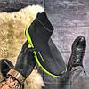 Balenciaga Speed Black Green (Черный), фото 3