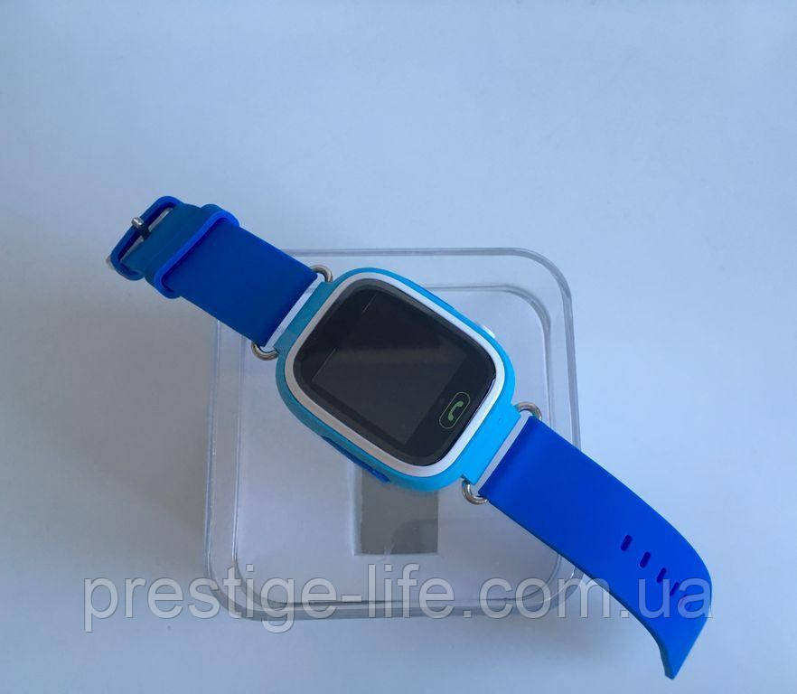 Смарт-часы с GPS, Wi-Fi, Smart Baby Watch Q90 цвет Голубой