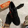 Vans Old Skool Black ART Rose (Черный), фото 2