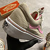 Vans Old Skool Gray and Pink (Серый), фото 4