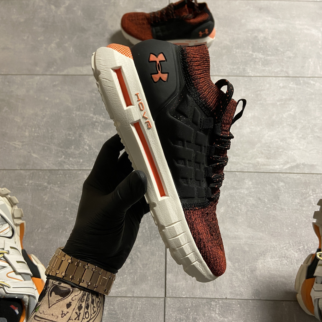 Under Armour Hovr Phantom Orange (Оранжевый)