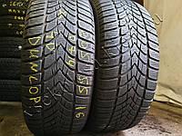 Зимние шины бу 205/55 R16 Dunlop